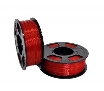 PETG пластик GF RUBY TRANSPARENT для 3D принтера